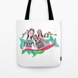The southamerican girls Tote Bag