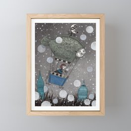 One Thousand and One Star Framed Mini Art Print