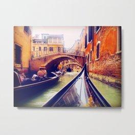 Venetian Waters Metal Print