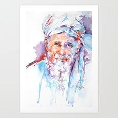 Wisdom of ages Art Print