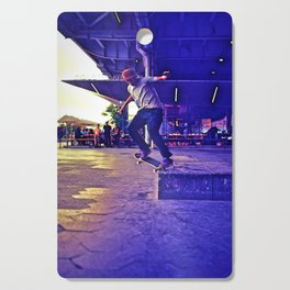 Colorful Skater Cutting Board
