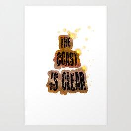 THECOAST Art Print