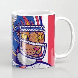 USA Sport Cat Coffee Mug