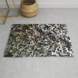 Moss and lichen Rug