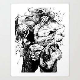 Garute Art Print