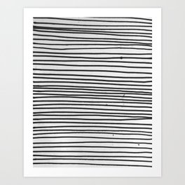 it's stripe's way or no way Art Print