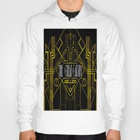 great gatsby Hoodies featuring The Great Gatsby by Ronoh Designs