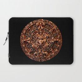 Ancient Mayan Sun Calendar Laptop Sleeve