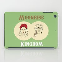 moonrise kingdom iPad Cases featuring Moonrise Kingdom  by Sheena White for Winsome Gallery