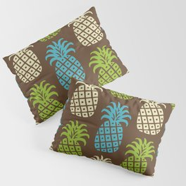 Retro Mid Century Modern Pineapple Pattern 83 Pillow Sham