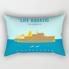 The Life Aquatic - Alternative Movie Poster Rectangular Pillow