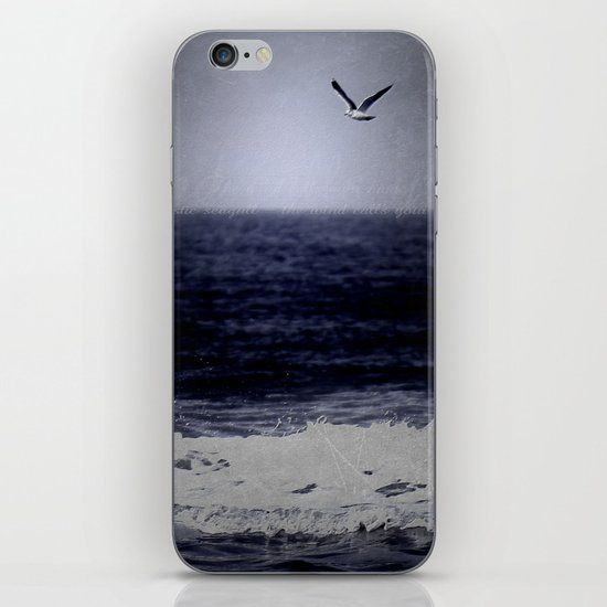 The wind calls your name iPhone & iPod Skin