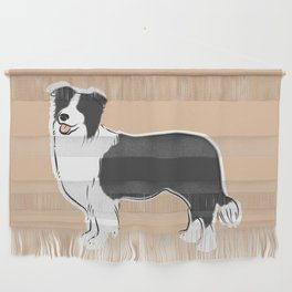 Border Collie Wall Hanging