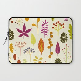 Fall Autumn Nature Forest Bits Laptop Sleeve