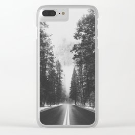 ON THE ROAD XIX / Yosemite Clear iPhone Case