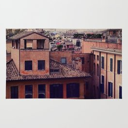 Rooftops of Roma Rug