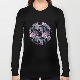 Dark flowers Long Sleeve T-shirt
