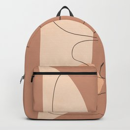 Abstract Free Flow I Backpack