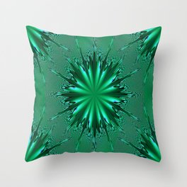 Seafoam Bursts - HS Series Throw Pillow