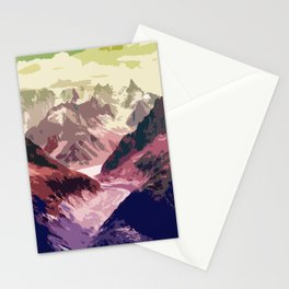 Mountain River #illustration #society6 Stationery Cards