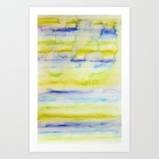 Bright Stripes Art Print