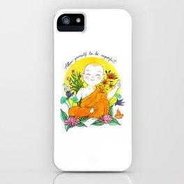 The Buddhist Monk iPhone Case