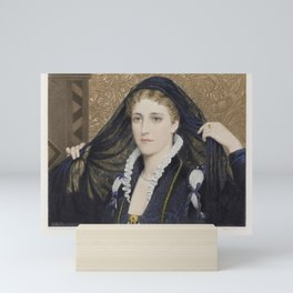 The Graphic Gallery of Shakespeare's Heroines (1896) - Olivia, from Twelfth Night Mini Art Print