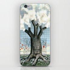 Wood fire iPhone & iPod Skin