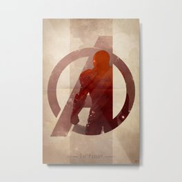 Avengers Assembled: The Prodigy Metal Print