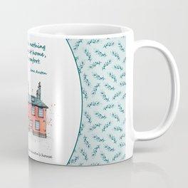 Jane Austen house and quote Coffee Mug