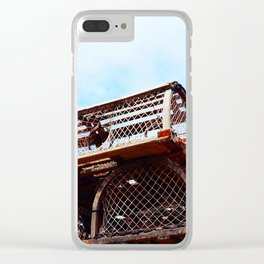 Lobster Trap Stack Clear iPhone Case