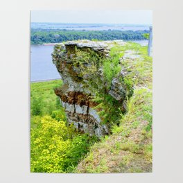 Lover's Leap in Hannibal, MO Poster
