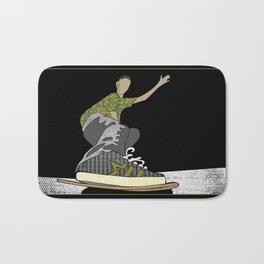 Skateboard 14 Bath Mat
