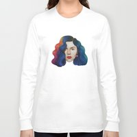 marina and the diamonds Long Sleeve T-shirts featuring Marina by Cannibal Malabar