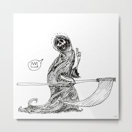 Saint Death  Metal Print