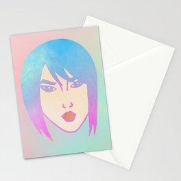Punk Girl Stationery Cards