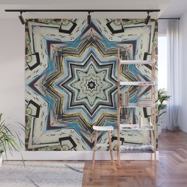 Eight Points of Texture Wall Mural