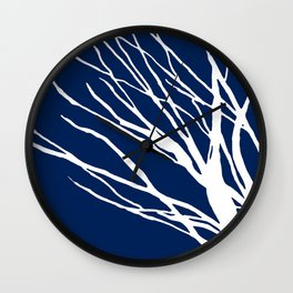 Navy Blues Wall Clock
