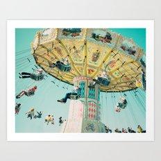 Love A Fair . . . swings Art Print