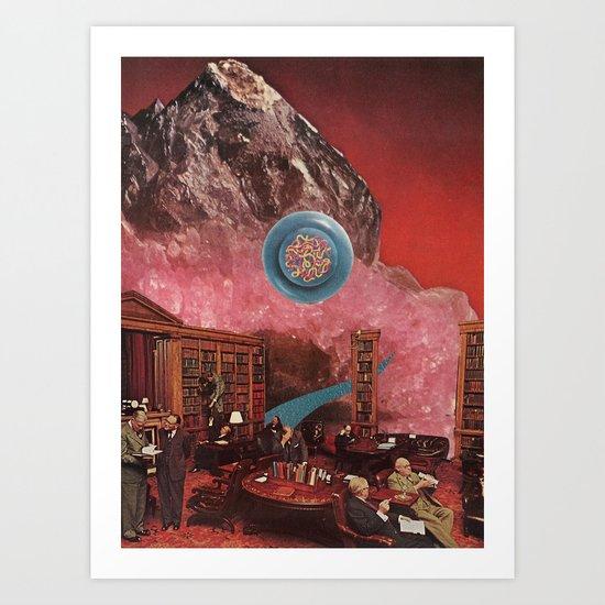 "3am of the soul #8 - ""mineralists"" Art Print"