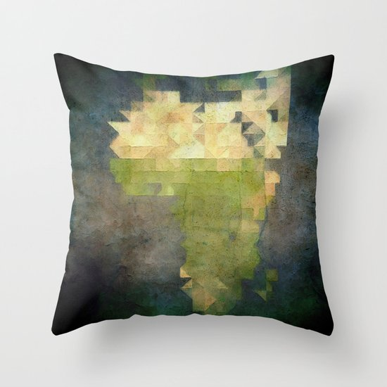 A F R I C A Throw Pillow
