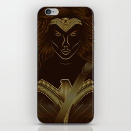 Wonder . Woman iPhone Skin