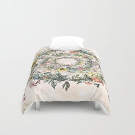 Circle of life- floral Duvet Cover