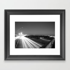 Nocturnal Framed Art Print