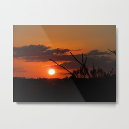 The Beautiful Sunset Metal Print