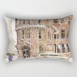 Winter in NYC Rectangular Pillow