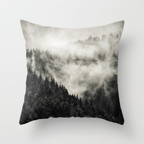 In My Other World // Old School Retro Edit Throw Pillow
