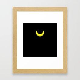 Sailor Moon - Luna Framed Art Print