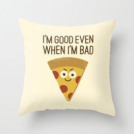 Mozzarelativity Throw Pillow