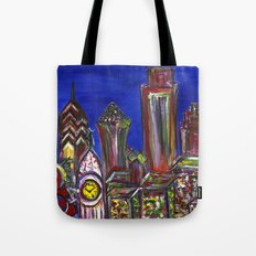 Philly Skyline LOVE Tote Bag